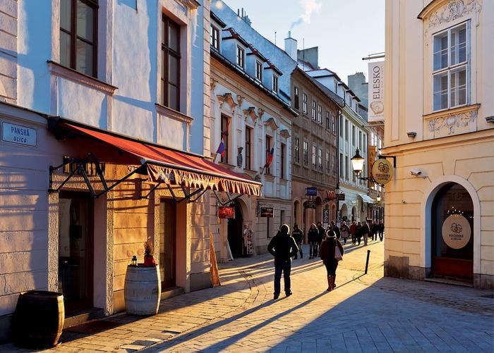 Bratysława, Ulica Panska