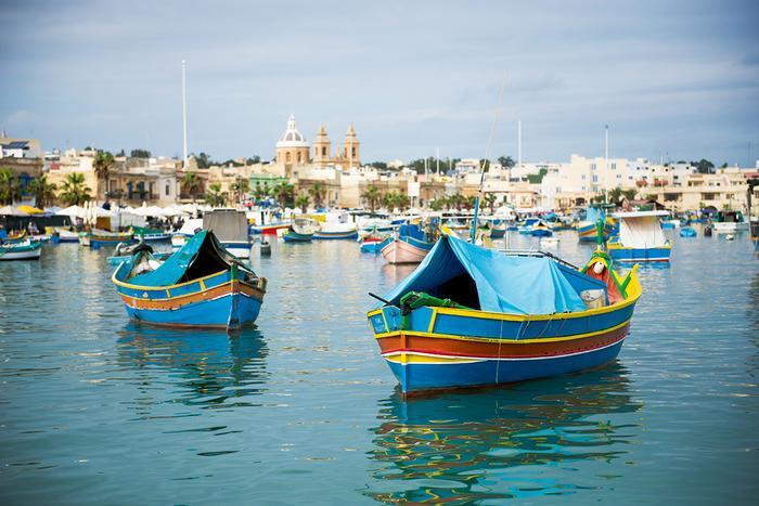 Marsaxlokk – wioska rybacka na Malcie