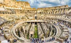 Koloseum jest symbolem starożytnego Rzymu