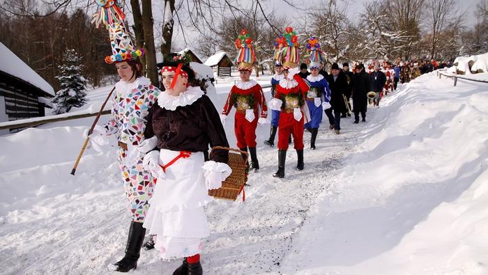 Karnawał w regionie Hlinecko