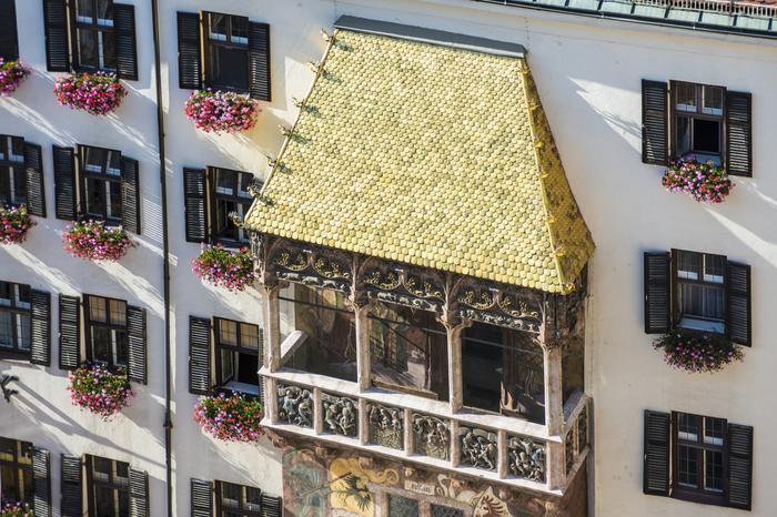 Złoty dach w Innsbrucku