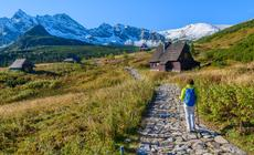 Tatry, wejście na Halę Gąsienicową