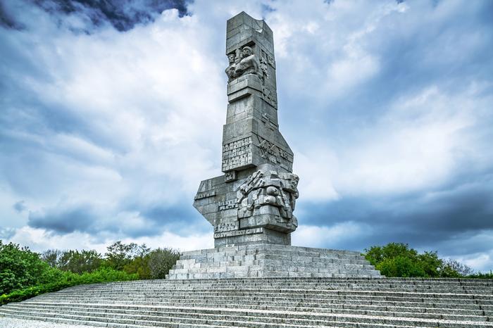 Pomnik Obrońców Wybrzeża w Gdańsku na półwyspie Westerplatte