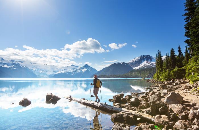 Kanada, trekking nad Jeziorem Garibaldi