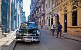 Do niedawna import aut na Kubę był zakazany – nieustannie więc restaurowano auta z lat 50.