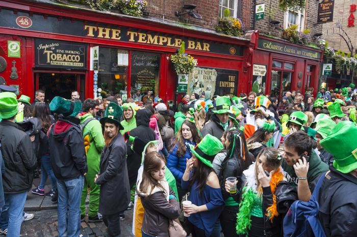 Dzień świętego Patryka w Dublinie