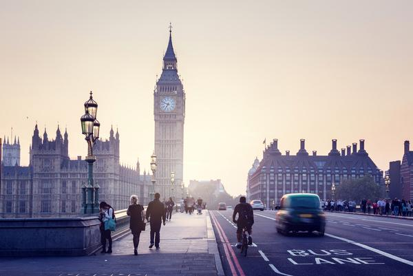 Prezent na walentynki dla niego: Londyn