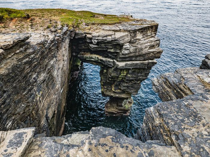 Wyspa Papa Westray w Szkocji