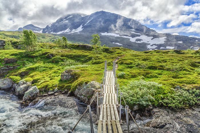 Płaskowyż Hardangervidda w Norwegii