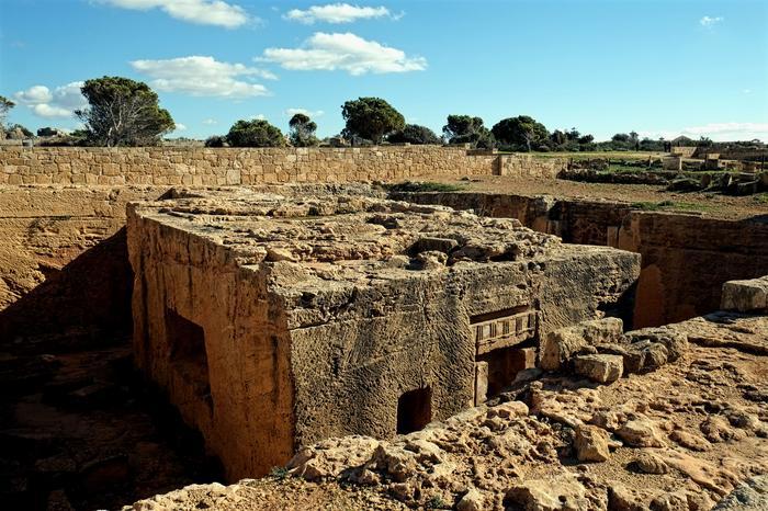 Cypr, Grobowce Królewskie w Pafos