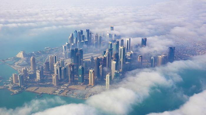 Doha z lotu ptaka