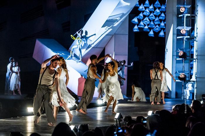 Pafos, Ceremonia otwarcia Europejskiej Stolicy Kultury