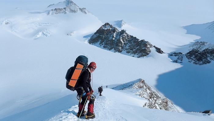 Antarktyda, wyprawa na Mt Winson