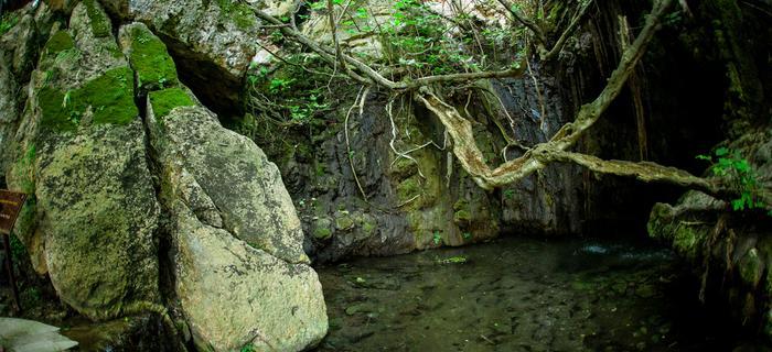 Cypr, łaźnie Afrodyty na Półwyspie Akamas