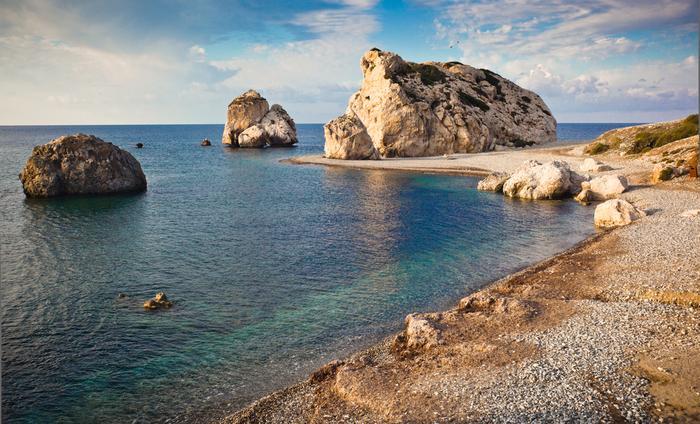 Cypr, Petra Tou Ramiou, czyli plaża, gdzie narodziła się Afrodyta
