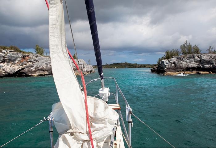 Bahamy, Hatchet Bay to dla żeglarzy idealne schronienie przed silnymi wiatrami z północy