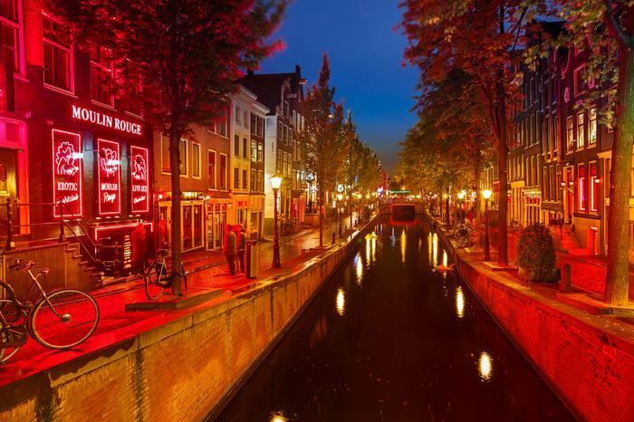 Amsterdam, Dzielnica Czerwonych Latarni