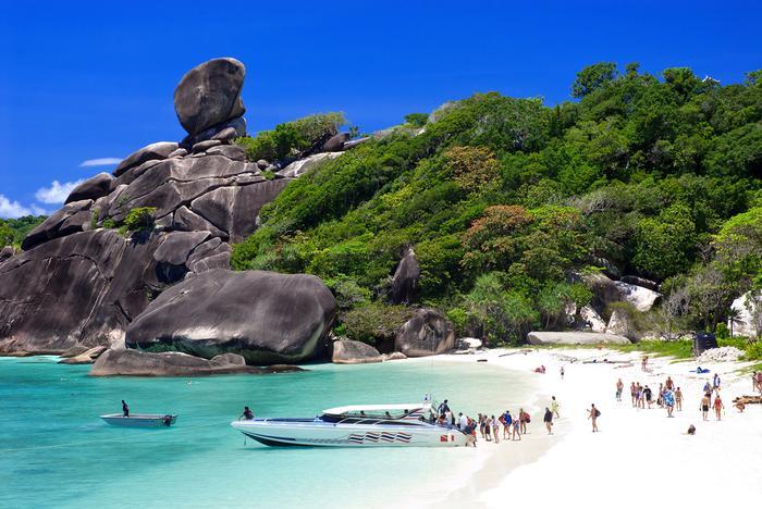 Similany to jedne z piękniejszych wysp Tajlandii