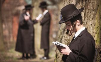 Leżajsk, Modlitwa na kirkucie przy grobowcu Elimelecha