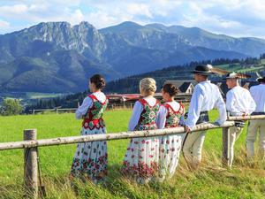 Kultura ludowa jest jedną z atrakcji Zakopanego