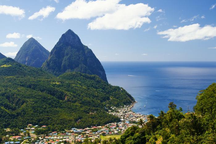Karaiby, Saint Lucia