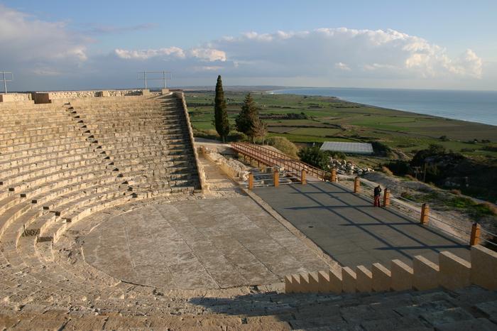 Cypr, amfiteatr w Kourion