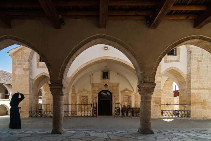 Omodos, Klasztor Świętego Krzyża