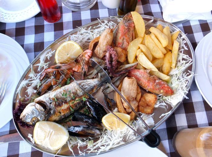 Kuchnia cypryjska, rybne meze