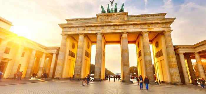 Brama Brandenburska to jeden z symboli Berlina
