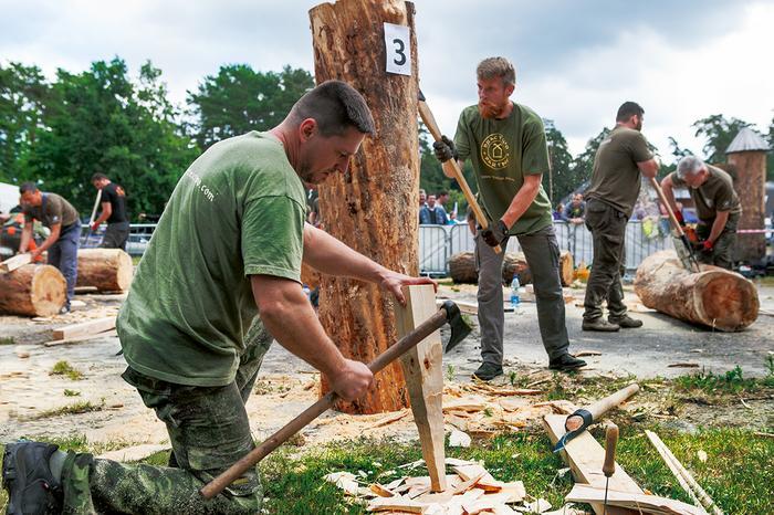 Zlot bartników w Puszczy Augustowskiej