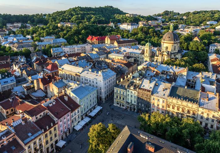 Panorama Lwowa