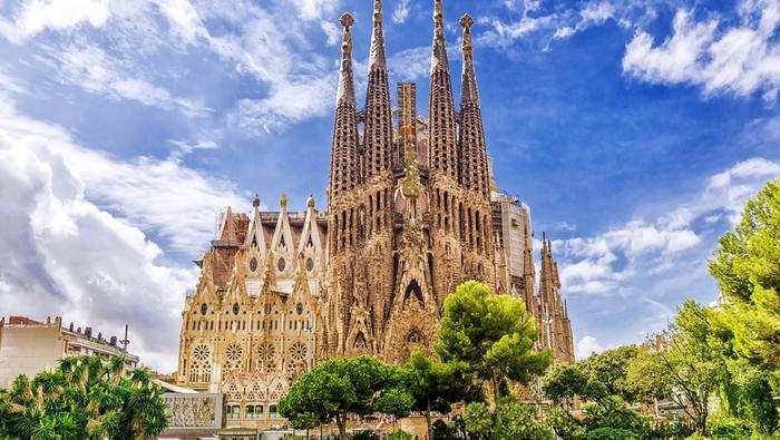 Największą atrakcją Barcelony jest Sagrada Familia