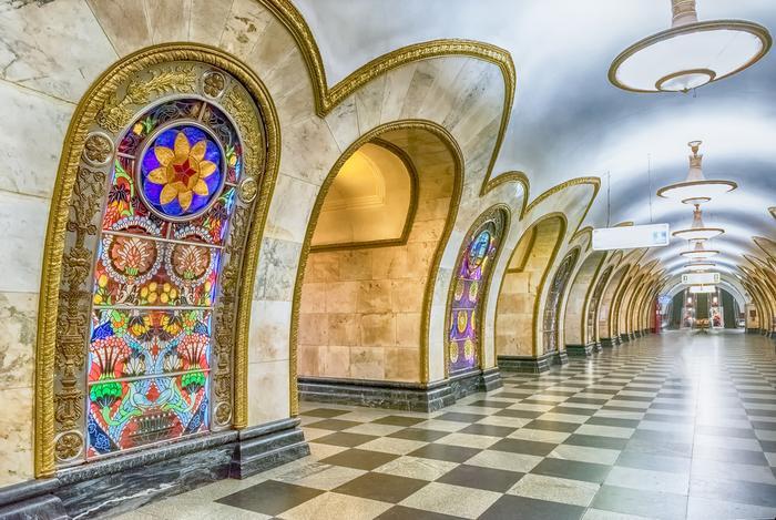 Moskiewskie metro i jego najpiękniejsze stacje