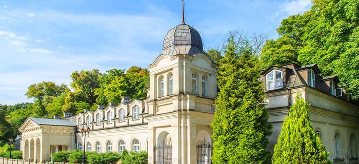 Stare Łazienki w Nałęczowie