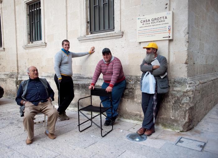 Mieszkańcy Matery