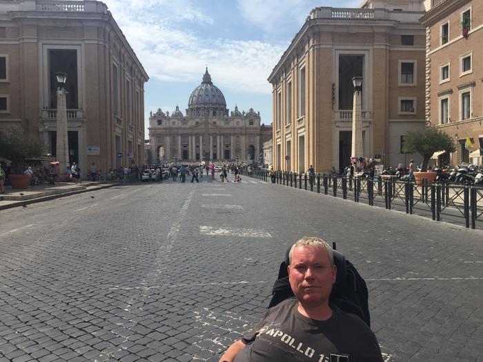 Watykan jest dobrze przystosowany dla osób poruszających się na wózku