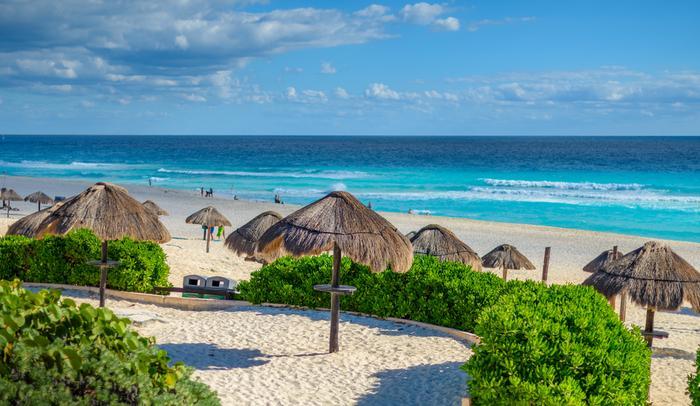 Plaża w Cancun