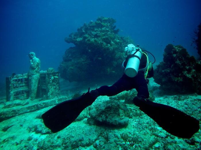 Nurkowanie w Cancun