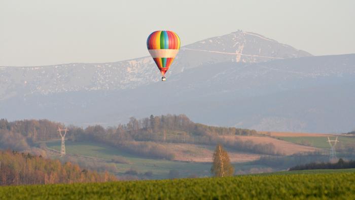 Lot balonem nad Polską
