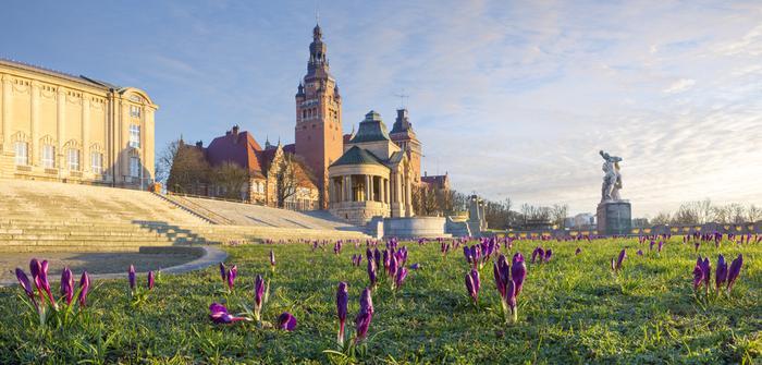 Wiosna w Szczecinie