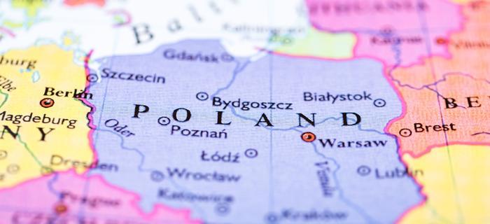 Mapa Polski