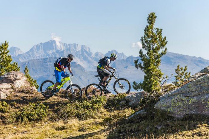 Trasa MTB w Trentino