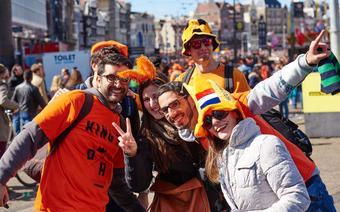 Holendrzy świętują Dzień Króla