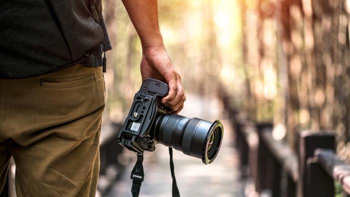 Fotograf w podróży