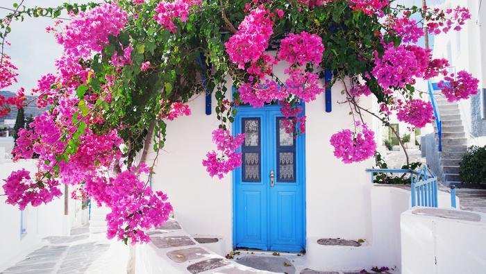 Wiosna w Grecji
