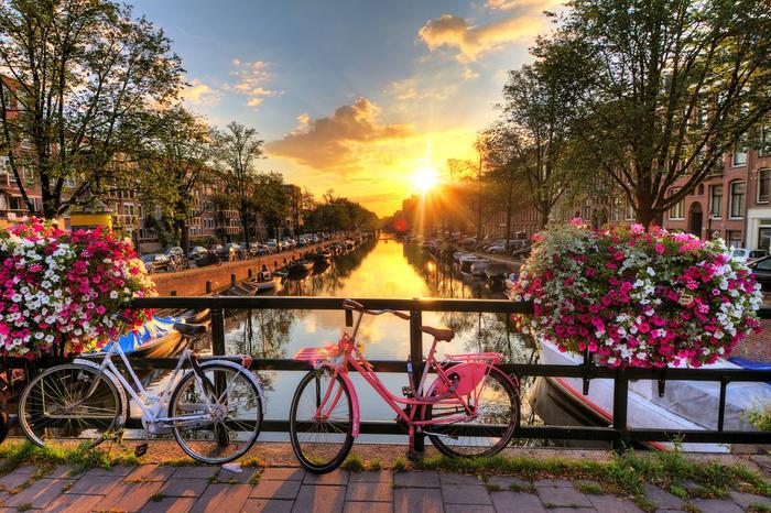 Wiosna w Amsterdamie