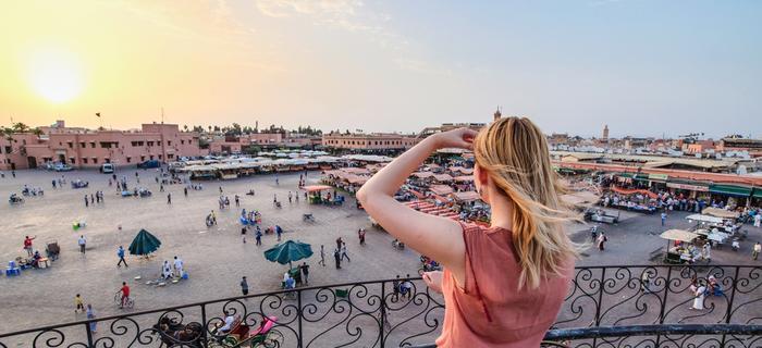 Marrakesz – jedno z największych miast Maroka