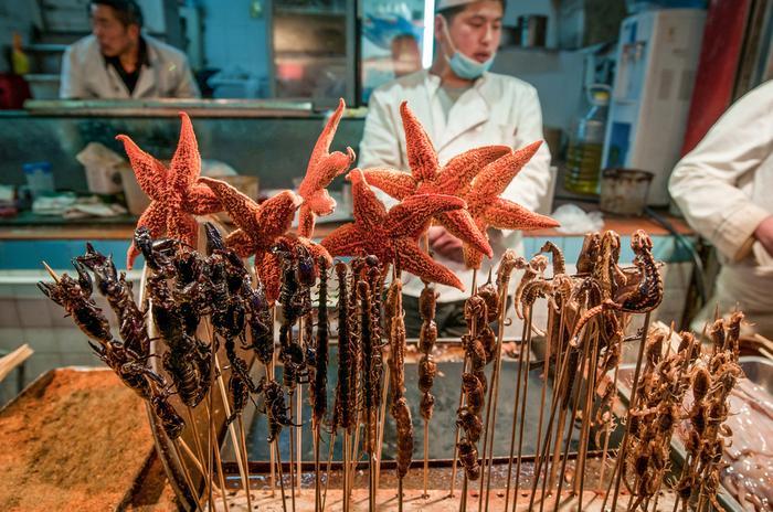 Street food w Pekinie