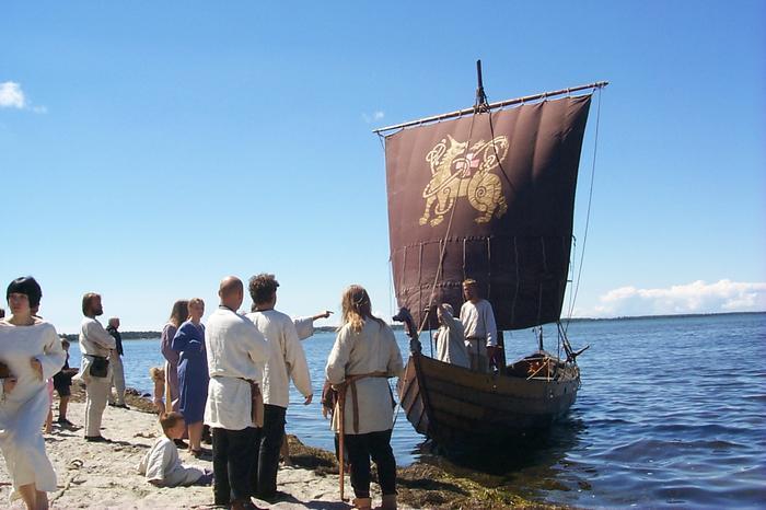 Okręt wikingów Erik Emune