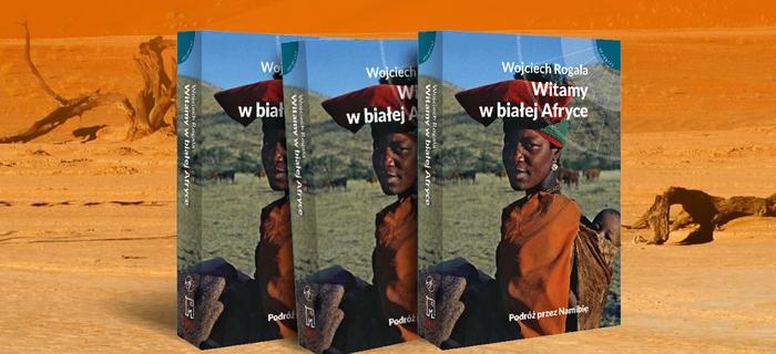 """Okładka książki """"Witamy w białej Afryce"""""""